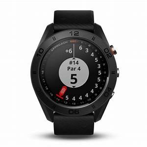 Reloj Garmin Approach S60 Negro Correa De Silicona Negra