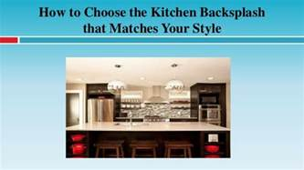 how to a backsplash in your kitchen how to choose the kitchen backsplash that matches your style