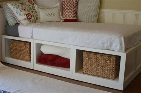 diy twin bed frame  storage twin bed storage bed