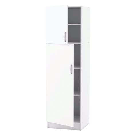 colonne cuisine meuble de cuisine blanc colonne 2 portes dya