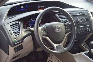 2015 Honda Civic Sedan Lx  Manual Transmission  Stock