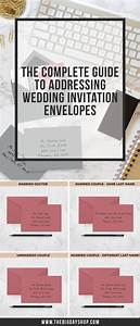 the 25 best addressing wedding invitations ideas on With wedding invitations addressing etiquette modern