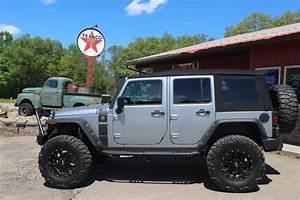Custom, Lifted 2017 Jeep Wrangler Unlimited Sahara Sport ...