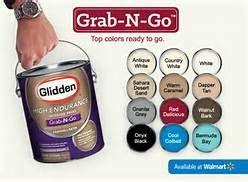 gliddens grab and go bermuda bay paint color from walmart yahoo image my lake