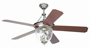 Craftmade 52 Ceiling Fan With Light Kit And Pewter Finish ...