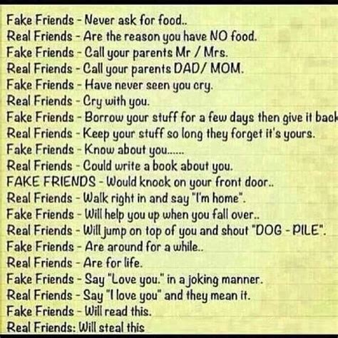 Real Friends Quotes Friends Vs Real Friends Quotes