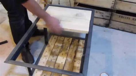 fabriquer un bureau en palette fabriquer un bureau en bois vous voulez un