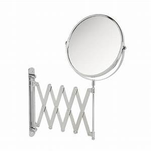 Miroir Pour Salle De Bain : miroir extensible de salle de bain armoires pharmacie ~ Dode.kayakingforconservation.com Idées de Décoration