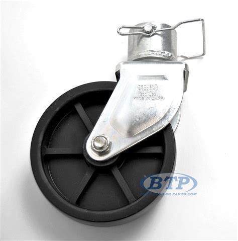 Boat Trailer Caster Wheel by Trailer Caster Wheel Assembly To 800 Lbs