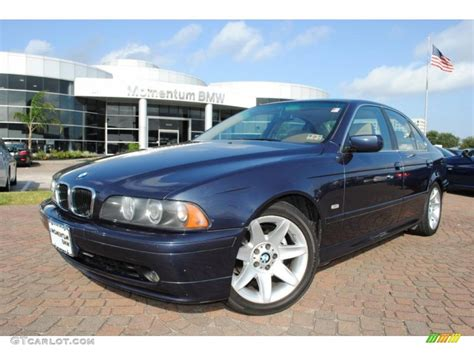 2002 Toledo Blue Metallic Bmw 5 Series 525i Sedan