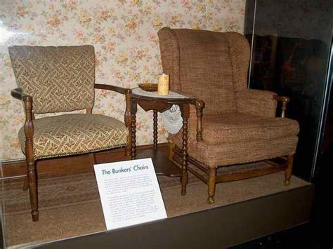 who made archie bunkers chair all in the family archie and edith s chairs in the