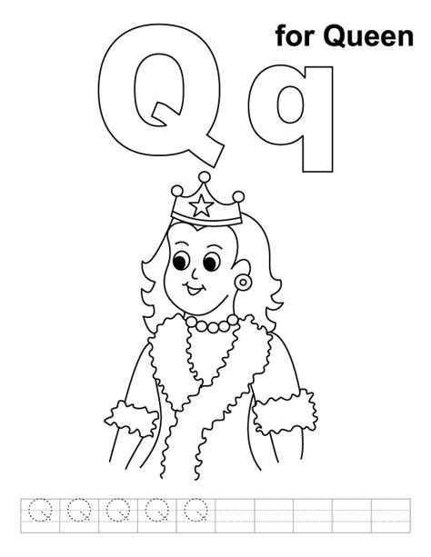 queen  characters printable coloring pages
