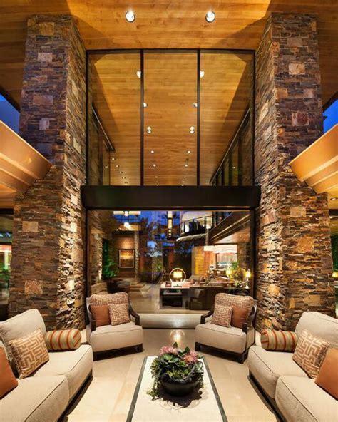 infomedia digital interior ruang tamu  arsitektur kayu