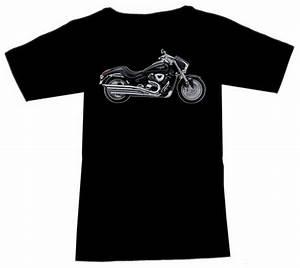 T Shirt Suzuki : t shirt biker motiv suzuki vzr 1800 intruder schwarz ebay ~ Melissatoandfro.com Idées de Décoration