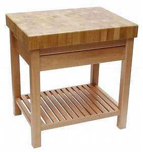 Billot De Boucher Ikea : table billot de boucher avec tiroir tom press ~ Voncanada.com Idées de Décoration