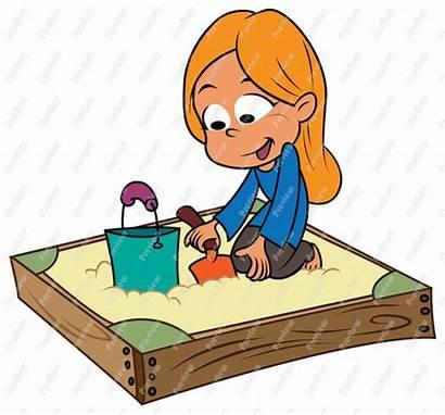 Sandbox Clipart Sand Clip Pit Playing Box