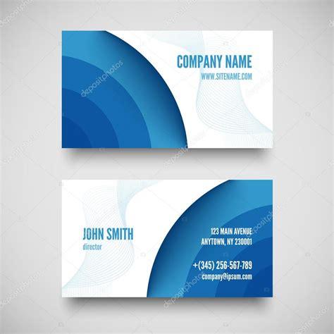 vector business card set elements  design stock