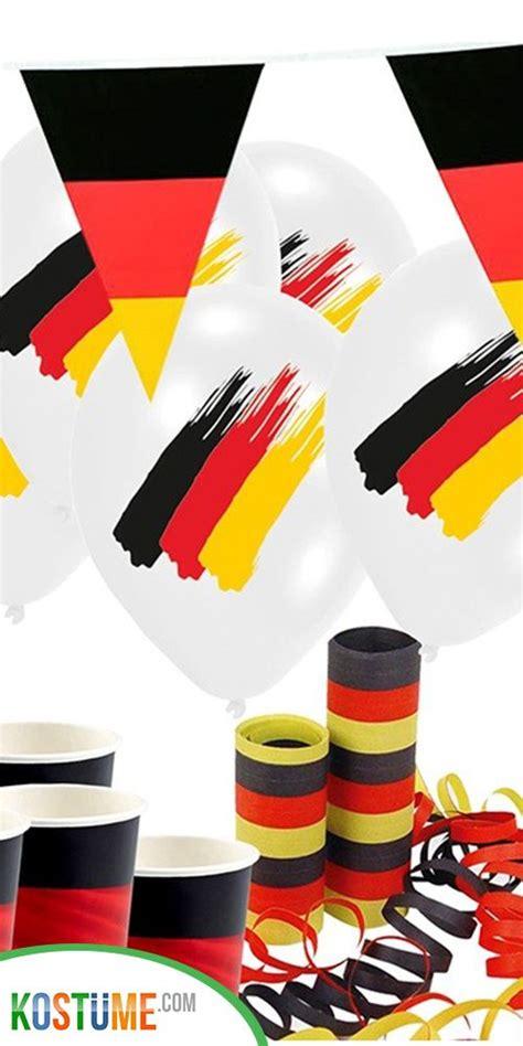 Birkmann motivbackform fußball, kitchencraft fußball kuchenpicker. Fußball Partyset Deutschland Flagge für 8 Personen | Party ...