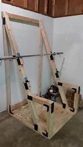 Boden Für Fitnessraum Zu Hause : diy squat rack fitnessraum fitnessstudio zu hause und ~ Michelbontemps.com Haus und Dekorationen