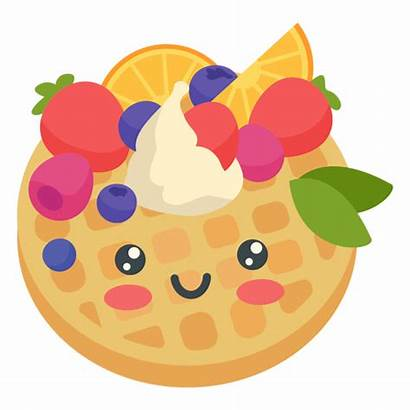 Kawaii Transparent Pancake Panqueca Feliz Happy Svg