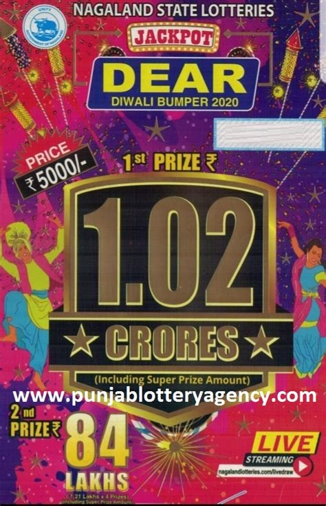 I buy a lottery ticket almost every week. Punjab Lottery Agency