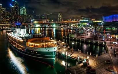 Sydney Night Quay Ferry Circular