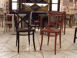 Chaise Bistrot Bois : chaise jacky chaise bistrot bois provence et fils ~ Teatrodelosmanantiales.com Idées de Décoration
