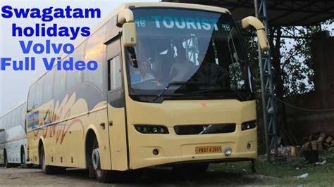 swagatam holidays indo canadian volvo bus service