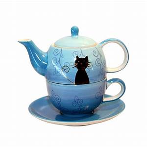 Tea For One Set : black cat tea for one set brew tea coffee merchants ~ Orissabook.com Haus und Dekorationen