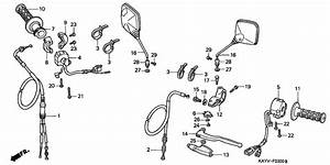 Handle Lever  Switch  Cable For 1997 Honda Nx125