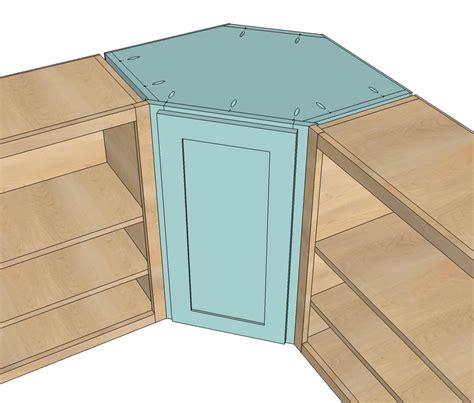 woodworking corner kitchen wall cabinet plans plans pdf