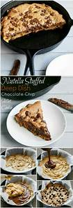 Nutella Skillet cookie Sweet recipes Pinterest