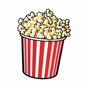 Royalty Free Popping Popcorn Clip Art, Vector Images ...