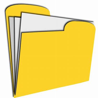Clipart Documents Library Clip Cliparts Folder