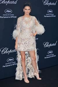 Cannes 2016 kendall jenner en robe transparence de for Kylie jenner robe