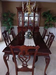 8 Piece Dining Room Set Incl Table 6 Chairs China