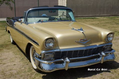 1956 Chevrolet Bel Air Convertible Honey Bee By Chip