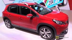 Peugeot 2008 Diesel : 2017 peugeot 2008 allure diesel exterior and interior walkaround 2016 geneva motor show ~ Medecine-chirurgie-esthetiques.com Avis de Voitures