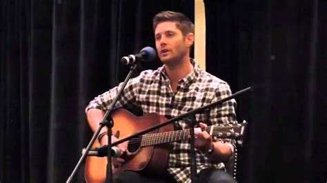 Jensen sing a song for him Daughter Justice Jay Ackles on ...