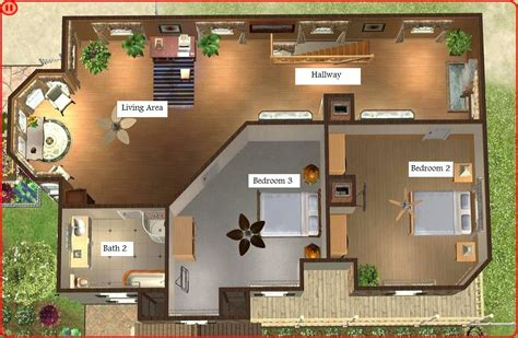 open floor plans ranch homes mod the sims luxurious house