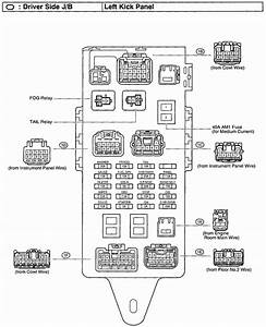 2003 Lexus Es300 Fuse Box Diagram