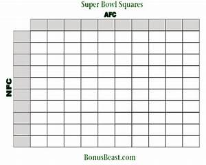 100 square football pool printable With free super bowl pool templates