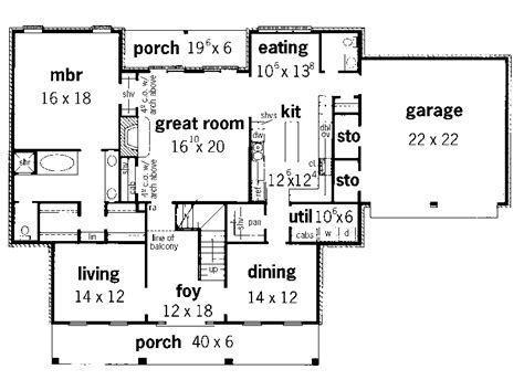 georgian floor plans watsonia georgian style home plan 092d 0232 house plans