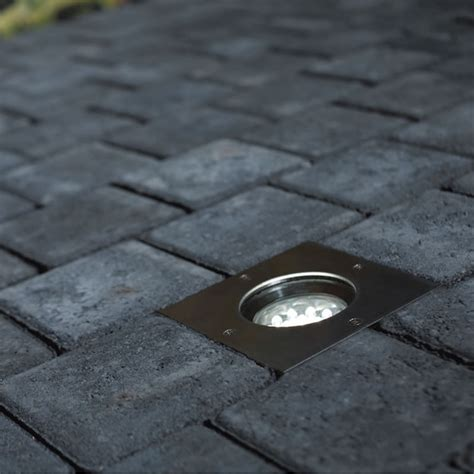 nordlux tilos square outdoor gu10 ground light
