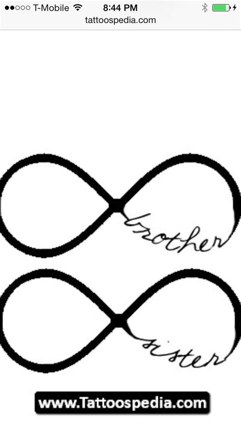 Matching tattoos- mother/son or father/daughter any combo! | Brother tattoos, Sister tattoos