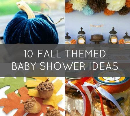 November Baby Shower Theme Ideas - 10 fab ideas for a fall themed baby shower disney baby