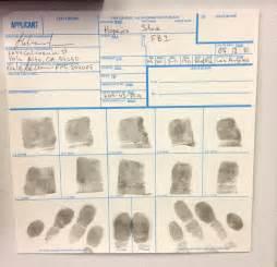 FINRA Fingerprint Cards