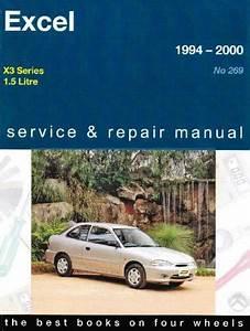 Hyundai Excel X3 Series 1994 2000 Gregorys Service Repair