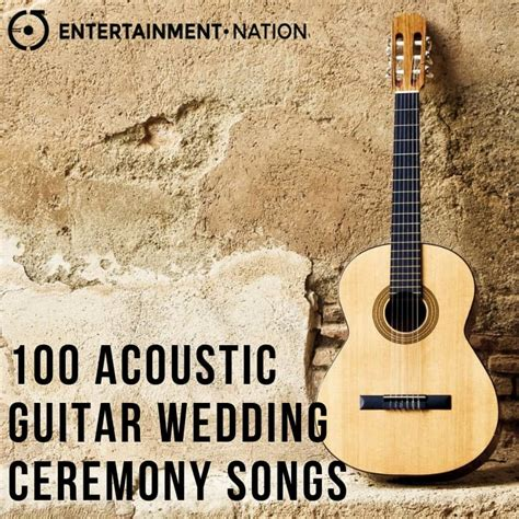 romantic acoustic guitar wedding ceremony songs