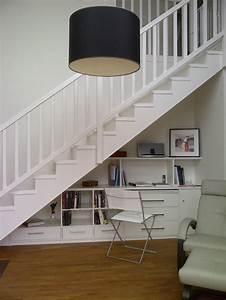 Bureau Sous Escalier : des pros pour l amenagement placard sous escalier ~ Farleysfitness.com Idées de Décoration